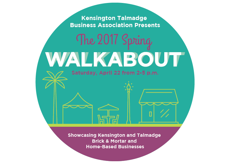 2017 spring walkabout kensington talmadge business for Door 2 door pizza hayes