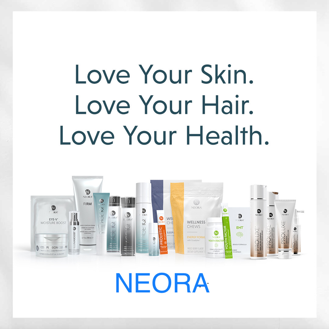 Love Your Skin, Hair, and Health. Neora