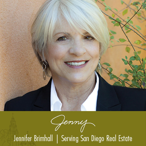 Jenny - Jennifer Brimhall - Serving San Diego Real Estate