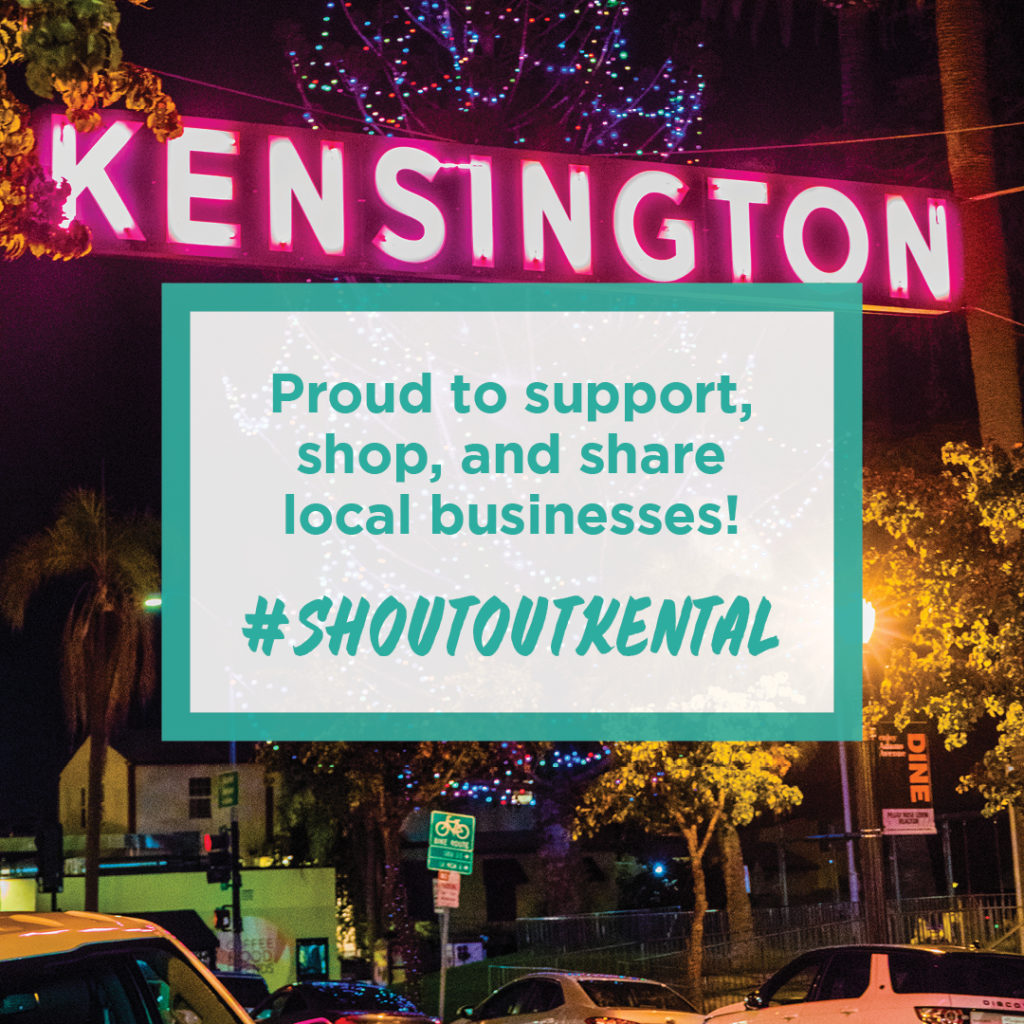 Proud to support, shop and share local businesses! #shoutoutkental